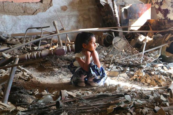 Week 42 in Jemen. Taiz is kapotgeschoten als Aleppo