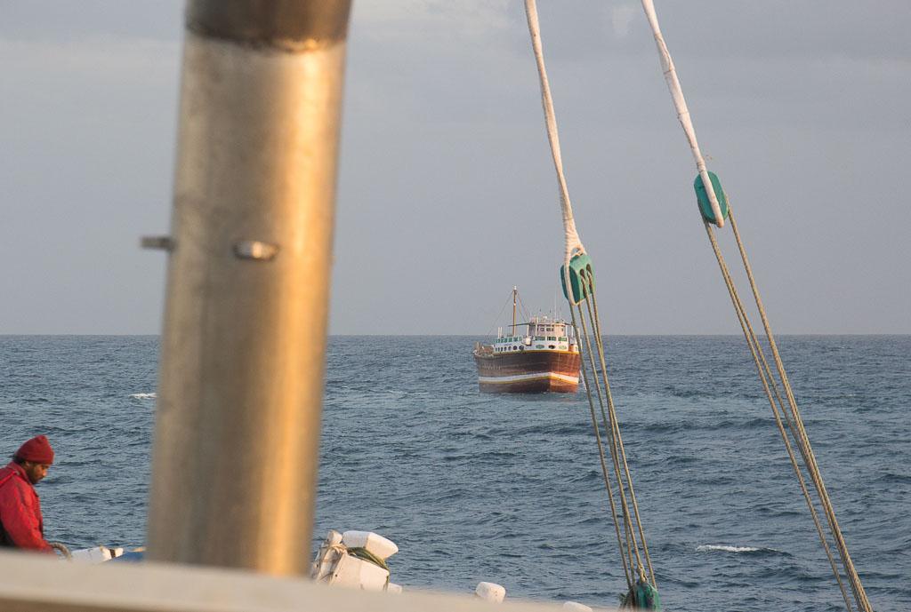 Met de cementboot naar Socotra